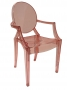 Pink Adult Louis Ghost Replica Chair